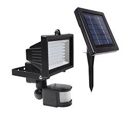 LED-Strahler-Test: Lighting-EVER-Solarleuchte-Wiederaufladbar