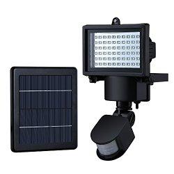 led au enstrahler check mpow solar 60 led sensor. Black Bedroom Furniture Sets. Home Design Ideas