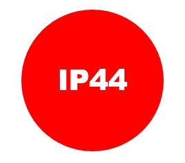 LED-Strahler: Schutzart IP44