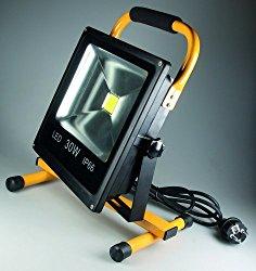 LED-Baustrahler Test: Chilitec LED-Baustrahler 30 Watt